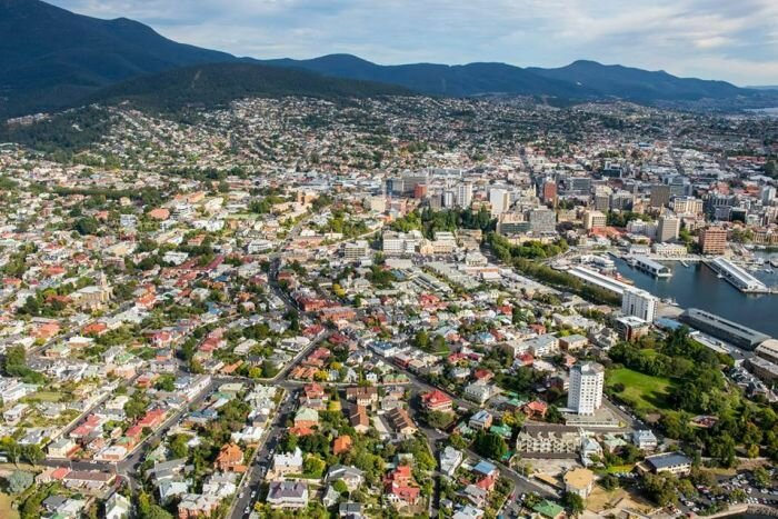 Tasmania Hobart property hotspot