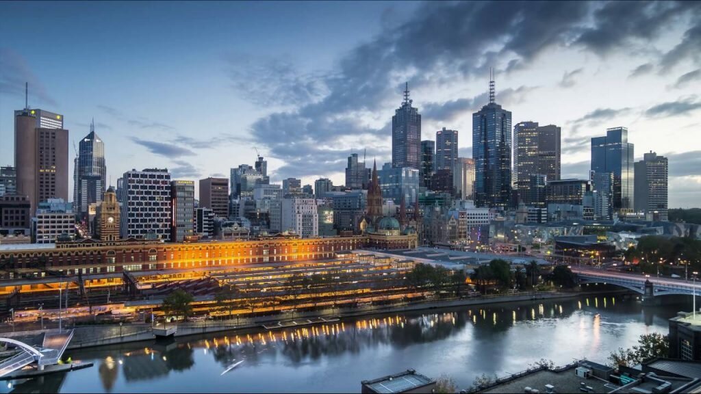 sydney and melbourne recovery. Melbourne landscape