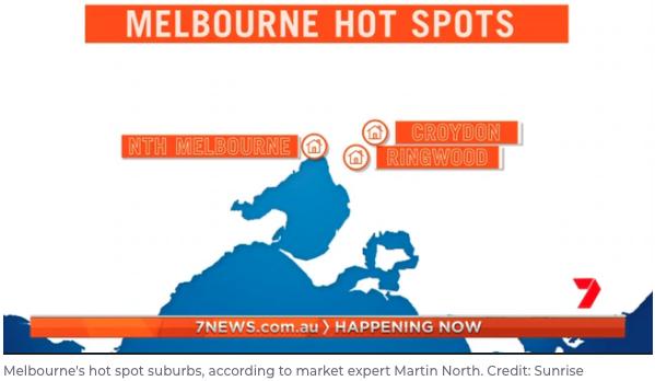 Melbourne Australian Capital City Hotspots