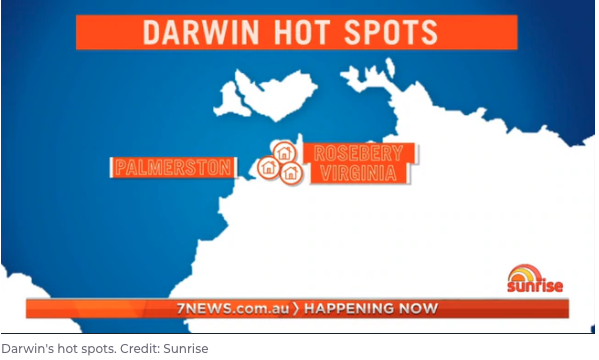 Darwin Australian Capital City Hotspots